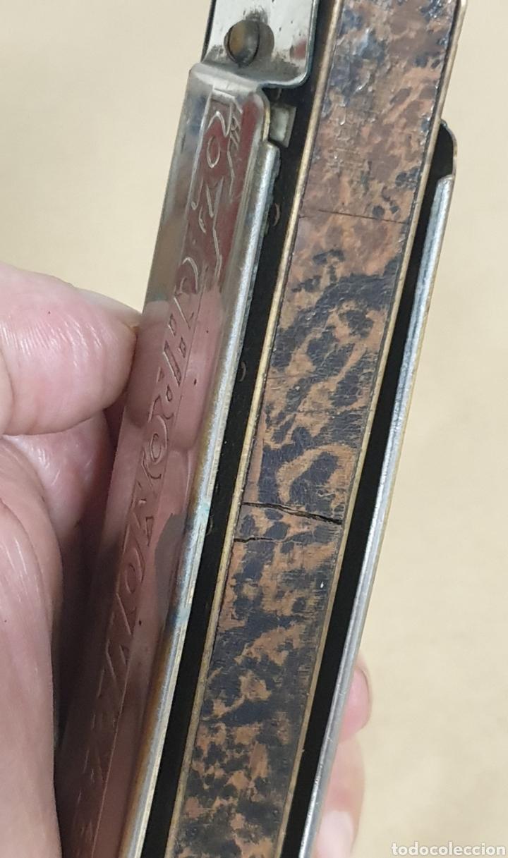 Instrumentos musicales: ARMONICA M. HOHNER GERMANY 64 CHROMONICA - 4 CHROMATIC OCTAVES PROFESSIONAL MODEL C - Foto 7 - 287246638