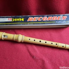 Instrumentos musicales: FLAUTA DE MADERA. SIN USO. Lote 287311348