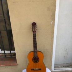 Instrumentos musicales: ANTIGUA GUITARRA ESPAÑOLA DE VALENCIA MARCA ROMANZA MODELO CARMEN . VER FOTOS. Lote 287392108