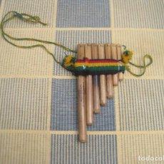 Instrumentos musicales: FLAUTA DE PAN PERUANA EN MINIATURA (SE PUEDE TOCAR). Lote 287410333