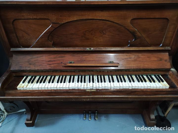 Instrumentos musicales: PIANO PARED DAVINS - Foto 4 - 287425183