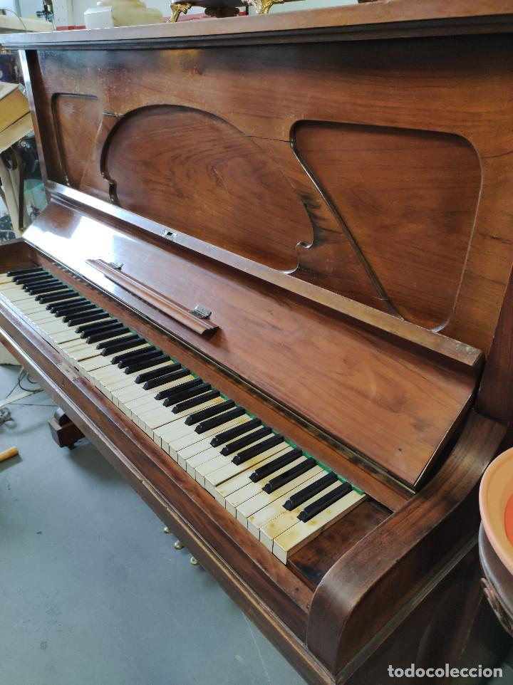Instrumentos musicales: PIANO PARED DAVINS - Foto 5 - 287425183
