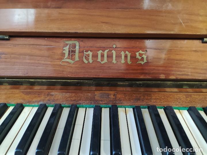 Instrumentos musicales: PIANO PARED DAVINS - Foto 8 - 287425183