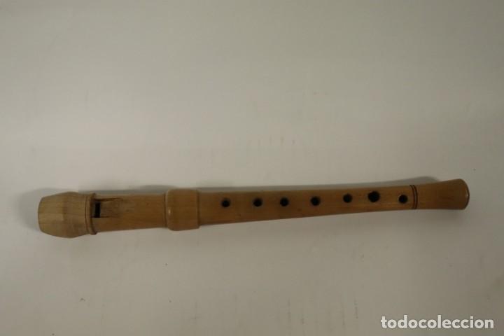 Instrumentos musicales: ANTIGUA FLAUTA DE MADERA - Foto 2 - 287699418