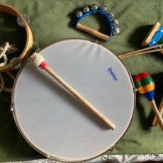Instrumentos musicales: LOTE INSTRUMENTOS MUSICALES MARACAS XILÓFONO PANDERETA PANDERO. Lote 287733888