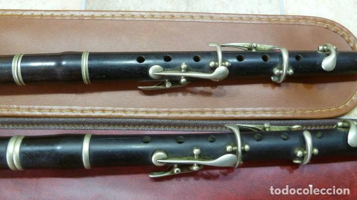 Instrumentos musicales: Pífanos de granadillo alemanes en RE afinables - Foto 2 - 287907913