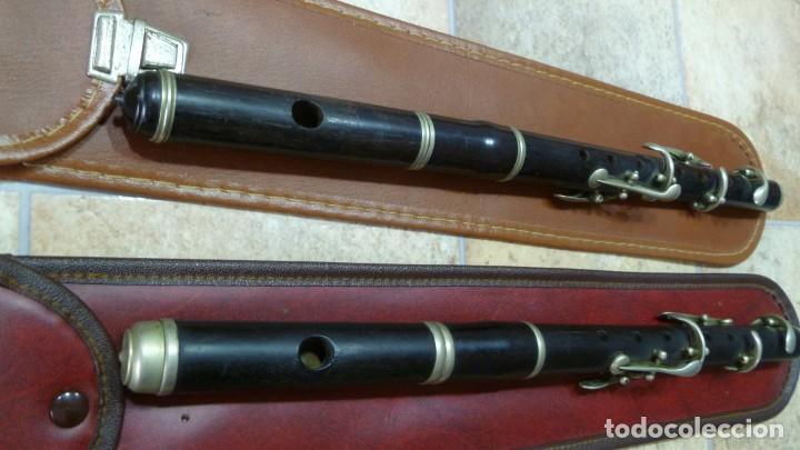 Instrumentos musicales: Pífanos de granadillo alemanes en RE afinables - Foto 5 - 287907913