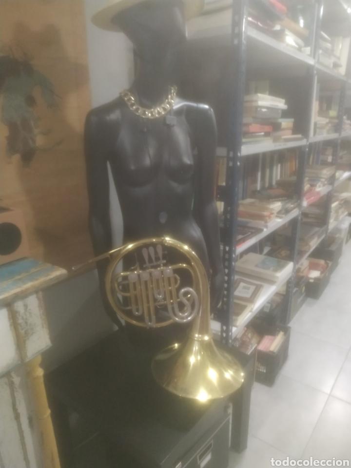 Instrumentos musicales: Trombón completo en buen estado, años 40 - Foto 3 - 287930758
