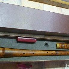 Instrumentos musicales: SILBATO RENACENTISTA TENOR HERMANN MOECK. Lote 288083663