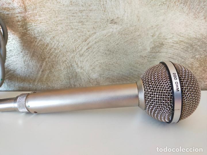 Instrumentos musicales: MICRÓFONO VINTAGE AKG D 120 C - Foto 5 - 288410463