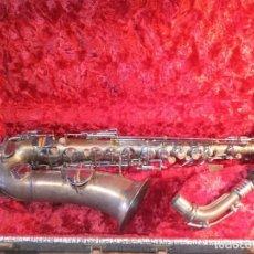 Instrumentos musicales: SAXOFON - F.X. HÜLLER, CO.. Lote 288537458