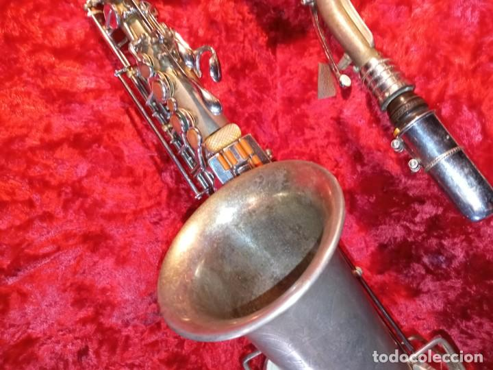 Instrumentos musicales: SAXOFON - F.X. HÜLLER, CO. - Foto 3 - 288537458