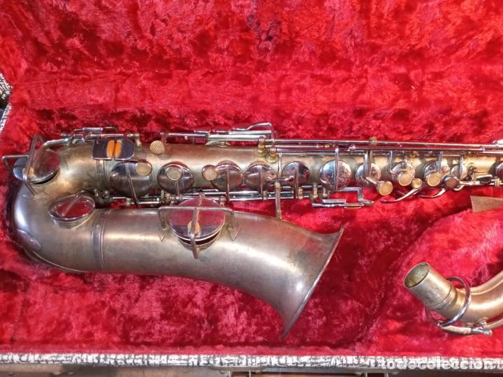 Instrumentos musicales: SAXOFON - F.X. HÜLLER, CO. - Foto 5 - 288537458