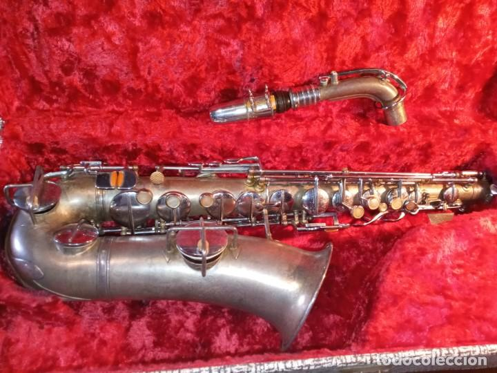 Instrumentos musicales: SAXOFON - F.X. HÜLLER, CO. - Foto 9 - 288537458