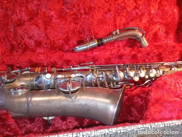 Instrumentos musicales: SAXOFON - F.X. HÜLLER, CO. - Foto 10 - 288537458