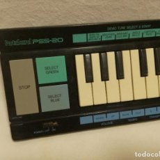 Instrumentos musicales: ORGANO / TECLADO / PIANO - YAMAHA PORTASOUND PSS-20 NEGRO (FUNCIONA). Lote 288915708