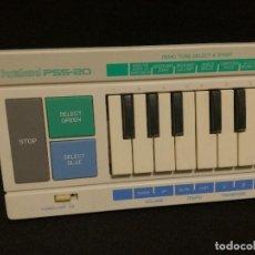 Instrumentos musicales: ORGANO / TECLADO / PIANO - YAMAHA PORTASOUND PSS-20 BLANCO (FUNCIONA). Lote 288916253