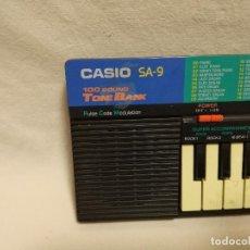 Instrumentos musicales: ORGANO / TECLADO / PIANO - CASIO SA-9 (FUNCIONA). Lote 288928368