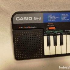 Instrumentos musicales: ORGANO / TECLADO / PIANO - CASIO SA-3 (FUNCIONA). Lote 288928813