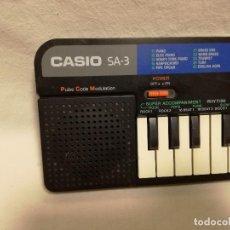 Instrumentos musicales: ORGANO / TECLADO / PIANO - CASIO SA-3 (FUNCIONA). Lote 288929648