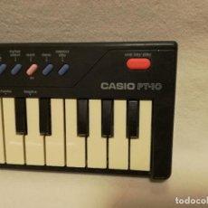 Instrumentos musicales: ORGANO / TECLADO / PIANO - CASIO PT-10 (FUNCIONA). Lote 288929998