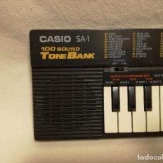 Instrumentos musicales: ORGANO / TECLADO / PIANO - CASIO SA-1 (FUNCIONA). Lote 288930073