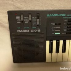 Instrumentos Musicais: ORGANO / TECLADO / PIANO - CASIO SK-5 (FUNCIONA). Lote 288988883