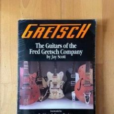 Instrumentos musicales: GRETSCH BY JAY SCOTT. Lote 289302028