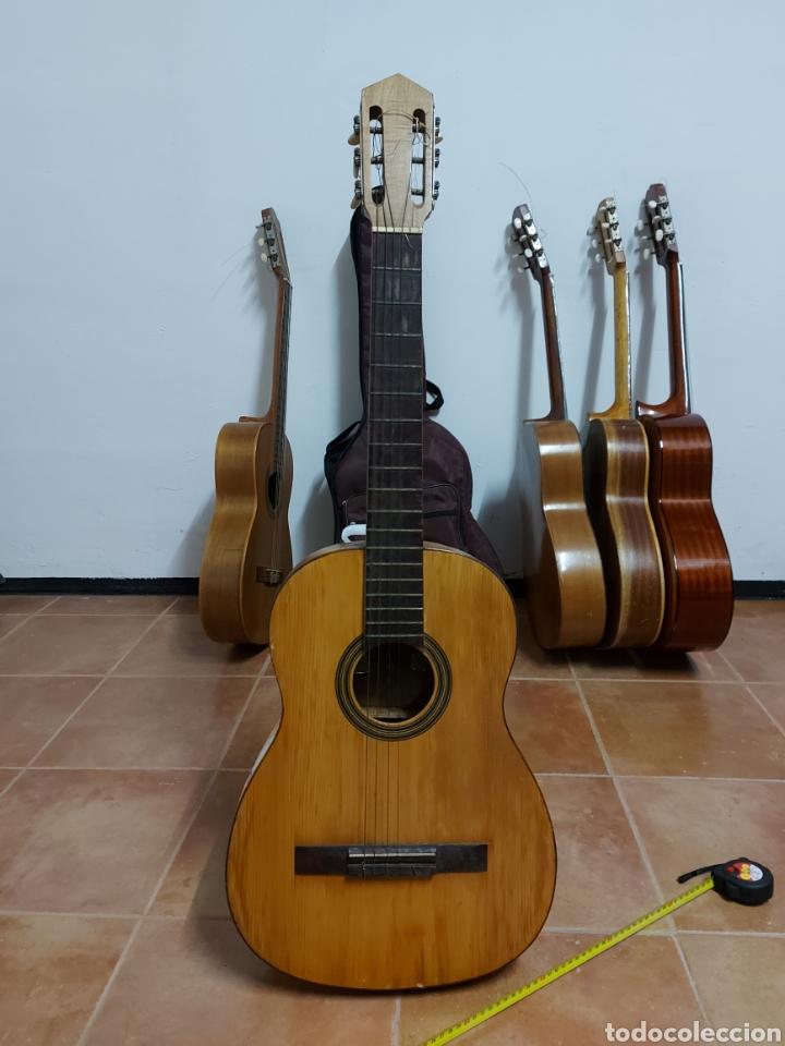 Instrumentos musicales: Guitarra Española Artesana de Toledo García Martín - Foto 2 - 289323493