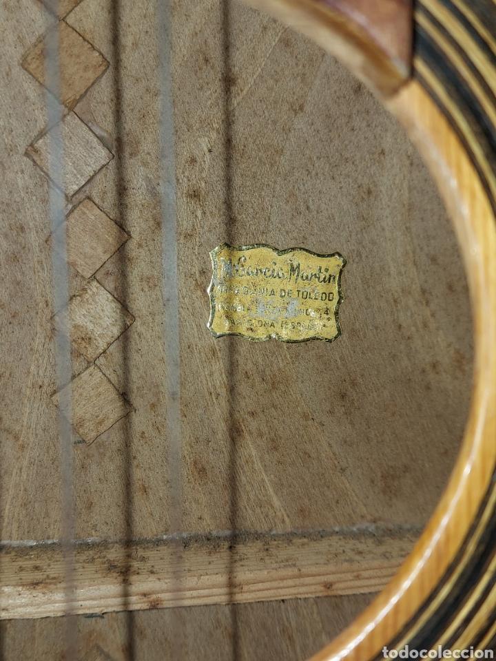 Instrumentos musicales: Guitarra Española Artesana de Toledo García Martín - Foto 3 - 289323493