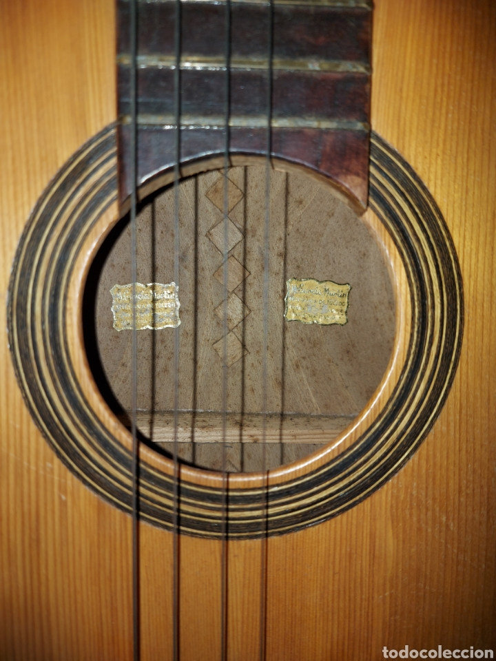 Instrumentos musicales: Guitarra Española Artesana de Toledo García Martín - Foto 4 - 289323493