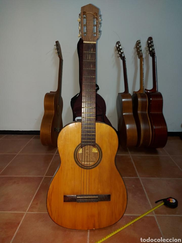 GUITARRA ESPAÑOLA ARTESANA DE TOLEDO GARCÍA MARTÍN (Música - Instrumentos Musicales - Guitarras Antiguas)