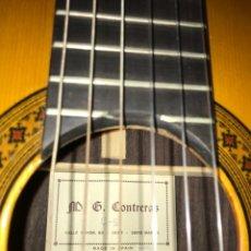Instrumentos musicales: GUITARRA CONTRERAS (PADRE) C6 1987. Lote 289505998
