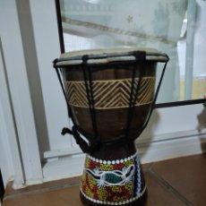 Instrumentos musicales: BONGO INSTRUMENTO MÚSICA ÉTNICO DECORACIÓN PERCUSIÓN. Lote 289513648