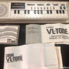 Instrumentos musicales: TECLADO CASIO VL-TONE VL-1 VINTAGE.FUNCIONQ PERFECTAMENTE. Lote 289584033