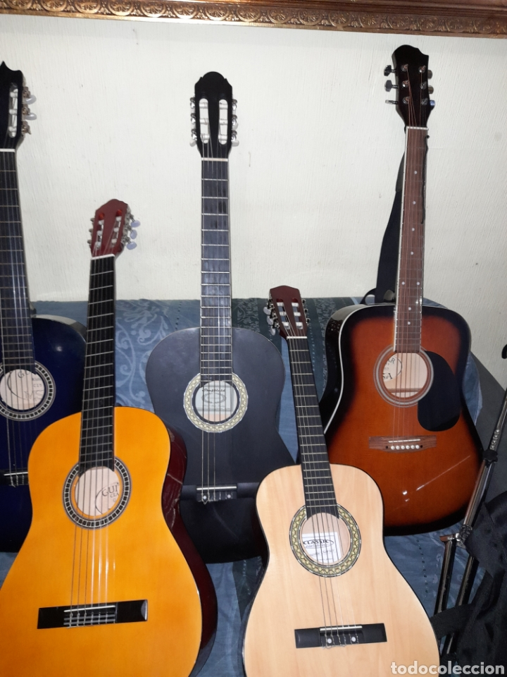 9 GUITARRAS NUEVAS (Música - Instrumentos Musicales - Guitarras Antiguas)