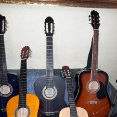 Instrumentos musicales: 9 GUITARRAS NUEVAS. Lote 289588078