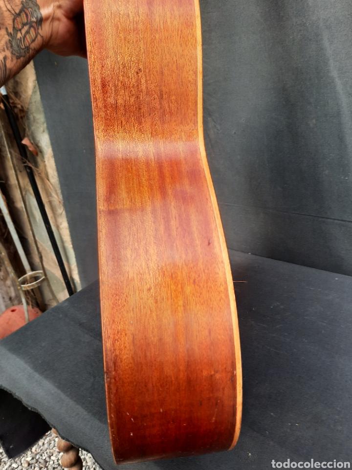 Instrumentos musicales: Vieja guitarra hijos de Vicente Tatay - Foto 5 - 289590228