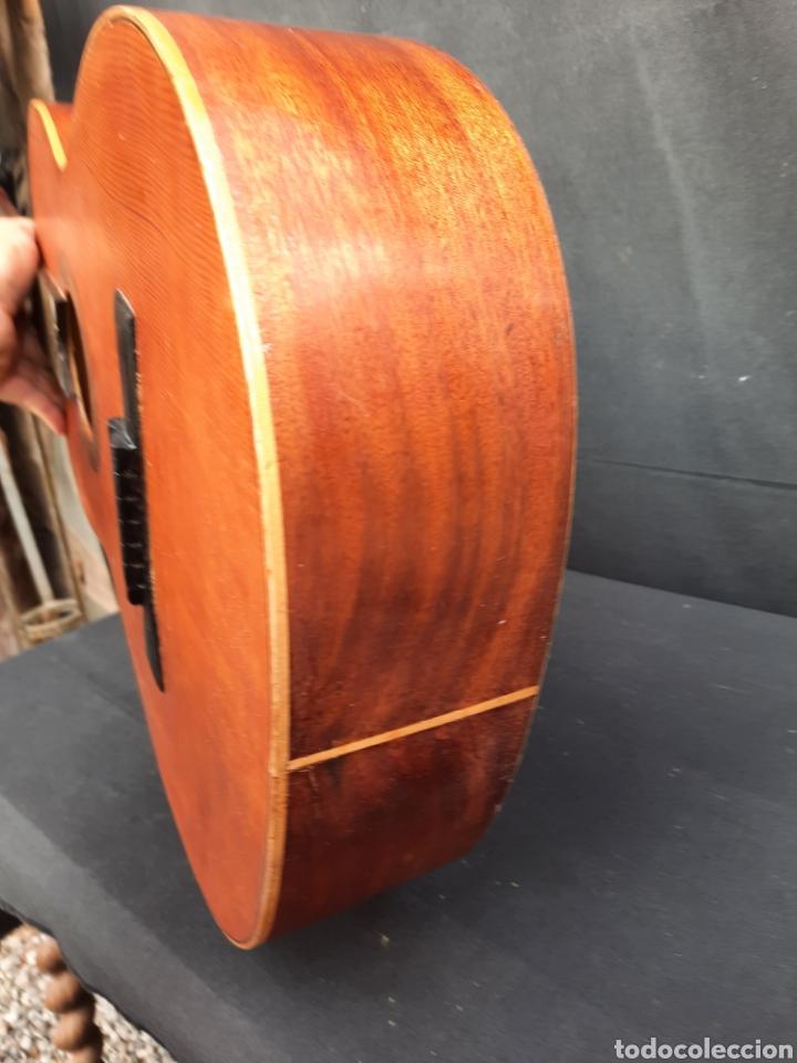 Instrumentos musicales: Vieja guitarra hijos de Vicente Tatay - Foto 7 - 289590228