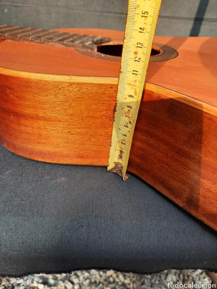 Instrumentos musicales: Vieja guitarra hijos de Vicente Tatay - Foto 13 - 289590228