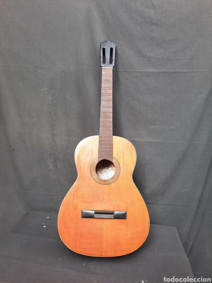 VIEJA GUITARRA HIJOS DE VICENTE TATAY (Música - Instrumentos Musicales - Guitarras Antiguas)