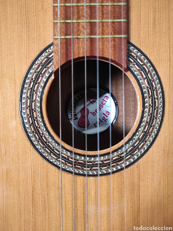 Instrumentos musicales: Guitarra años 60 de Francisco Broseta Roglá. Con su funda. Muy buen estado. - Foto 6 - 289590878
