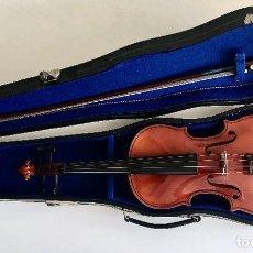 Instrumentos musicales: NUEVO LISTING: VIOLÍN AÑOS 70 ARTESANAL PRIVADO. REPÚBLICA CHECA. CONSERVADO COMO NUEVO.. Lote 289838203