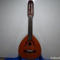 Instrumentos musicales: BANDURRIA-LAÚD VICNTE SANCHIS. 85CM. LARGO. 33CM. ANCHO.. Lote 289908653