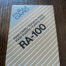 Instrumentos musicales: RARE CASIO RAM CARD RA-100 FOR FOR HT-HZ SYNTHESIZER. Lote 290036098