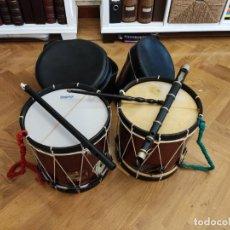 Instrumentos musicales: TXISTU Y TAMBORIL EUSKADI PAIS VASCO. Lote 290764528