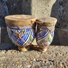 Instrumentos musicales: BONITO TIMBAL ARABE. Lote 291593678