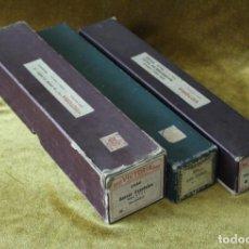 Instrumentos musicales: CONJUNTO DE TRES ROLLOS PARA PIANOLA DEL MAESTRO GRANADOS.. Lote 292153583