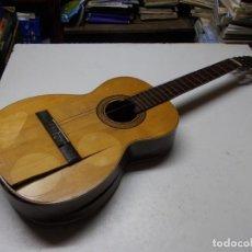 Instrumentos musicales: GUITARRA EN MAL ESTADO PARA RESTAURAR. VICENTE TATAY TOMAS, VALENCIA. VER FOTOS. Lote 293181263