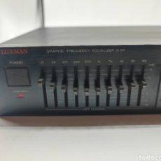 Instrumentos musicales: ECUALIZADOR LUXMAN G-111. Lote 293423838
